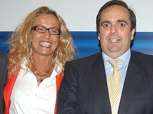 Carmen Quijano y Willy Ortega