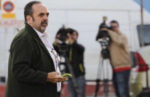 Willy Ortega este lunes en el juicio