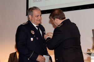 El policía Calvo, uno de los condecorados