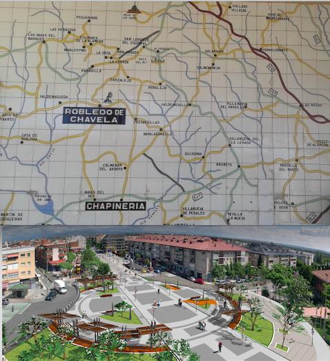 En los mapas de los años 70 no salía Majadahonda
