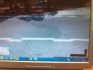 Las grietas, en Google Maps