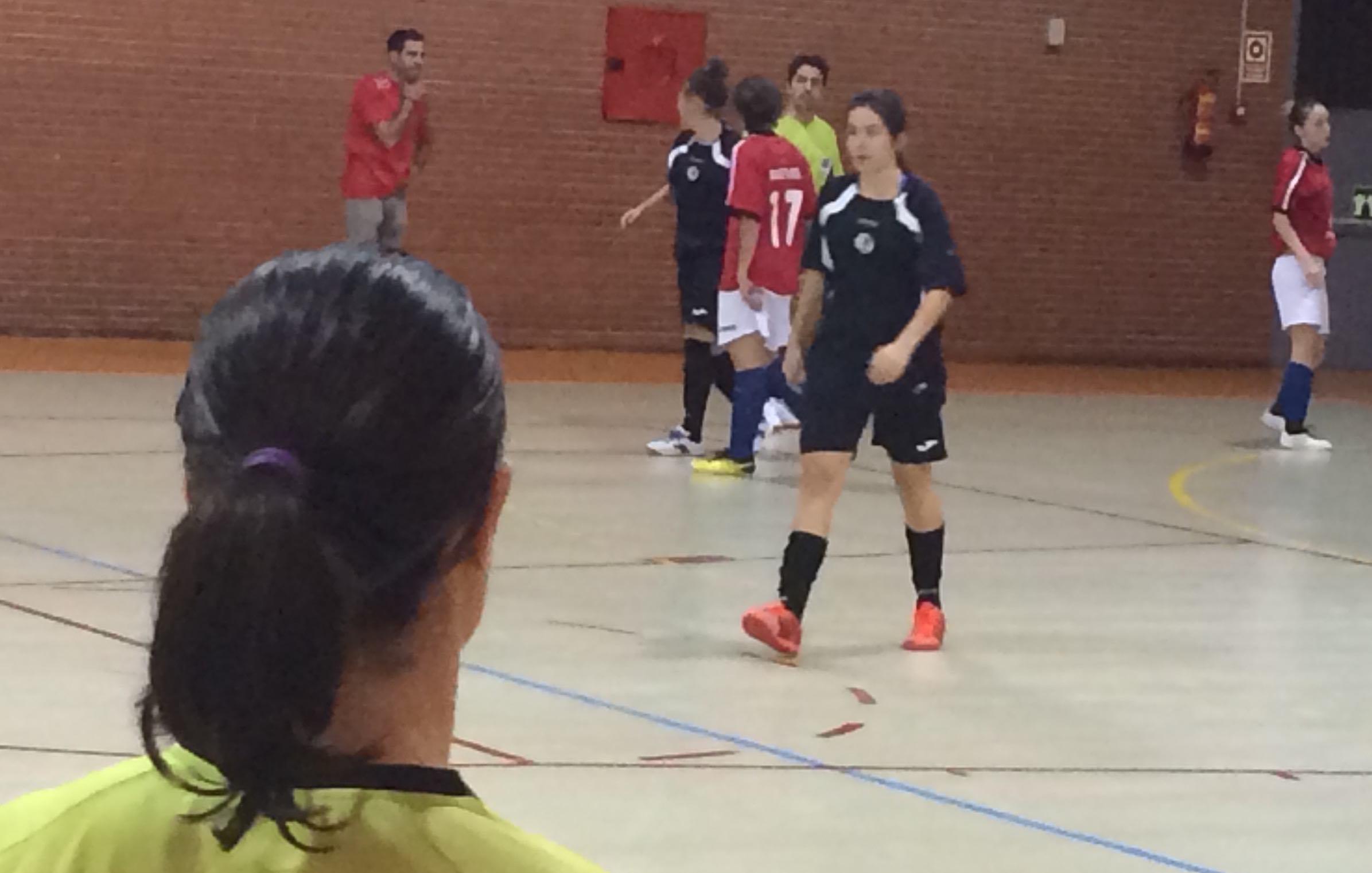 Fútbol sala femenino  Majadahonda remonta y se lleva 1 punto de un ... 7e0fe489b9112