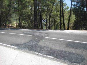 La carretera ha sido asfaltada