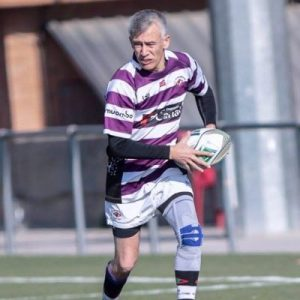 Practicante de rugby