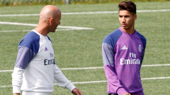 Zidane convocó a Achraf contra el Celta pero su padre no deja el mercadillo de Majadahonda