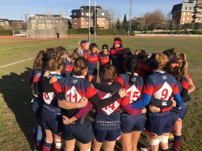 Rugby Femenino: Getxo arranca un empate en Majadahonda con un partido brillante e igualado