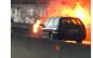 Espectaculares fotos y vídeos del incendio de 3 coches en la A6 de Majadahonda: caos en Madrid