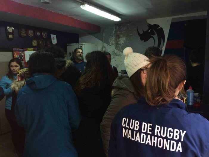 Rugby Femenino: la fiesta del CR Majadahonda tras vencer al CRAT de A Coruña