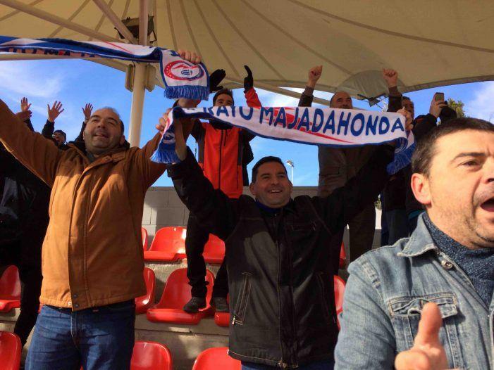 Rayo Majadahonda recupera la ilusión con su histórica victoria ante el Logroñés (1-0)
