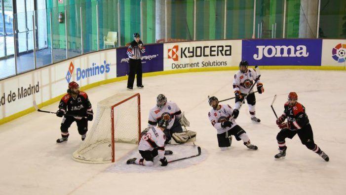 Hockey Hielo: El Jaca deja al SAD Majadahonda fuera de la final de Copa aunque tuvo su oportunidad