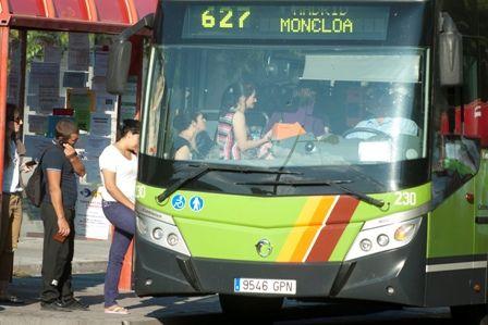 La huelga de autobuses de Majadahonda no reclama mejoras económicas sino sociales