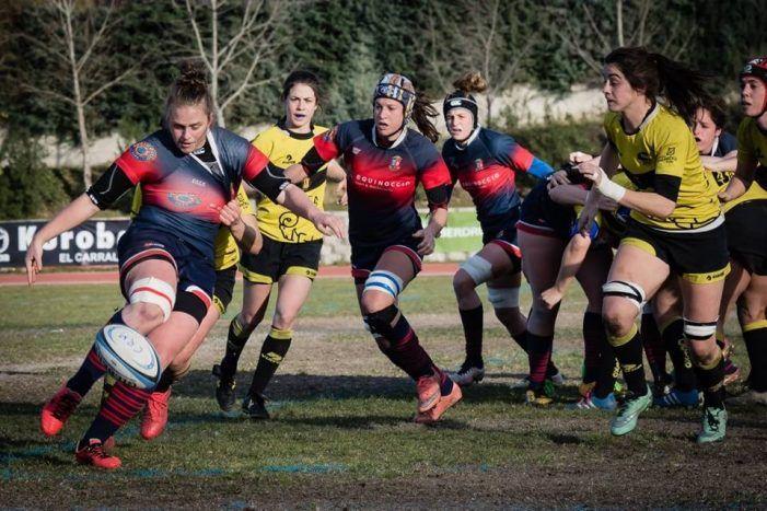 Rugby Femenino: CR Majadahonda lidera la liga con 7 puntos de ventaja tras su empate con el Getxo