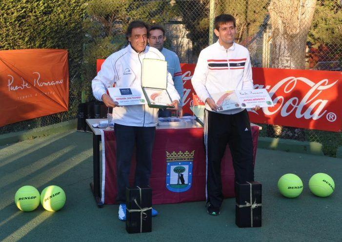 "Tenis: Gerardo San Román y Natalia Alonso (CIT Majadahonda) ganan el torneo ""Madrid Tributa a Santana"""