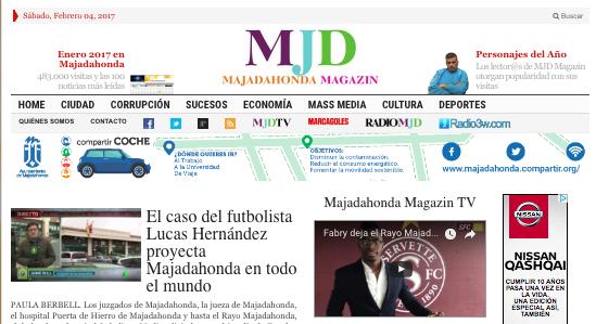 Las 30 noticias del mes más leídas en Majadahonda Magazin