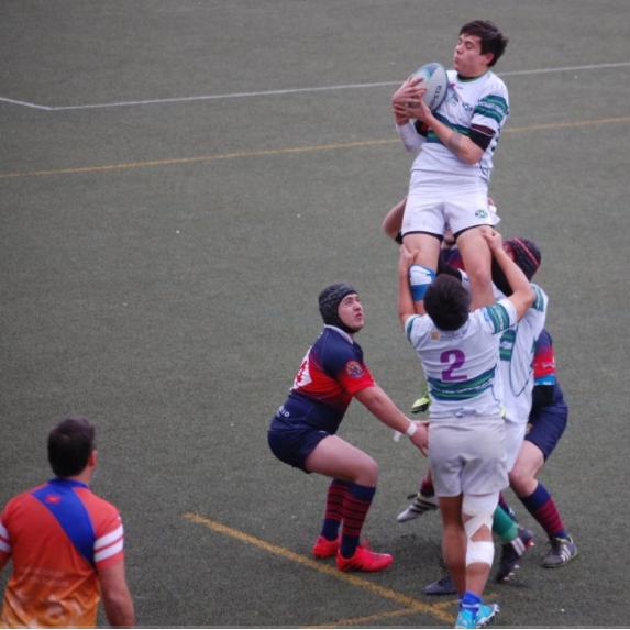 Rugby: CR Majadahonda sigue 2º tras su golpe de autoridad en Boadilla frente al Tasman (22-50)