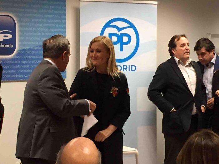 """La """"luna de miel"""" entre Cifuentes y Foxá arrincona al sector crítico del PP"""