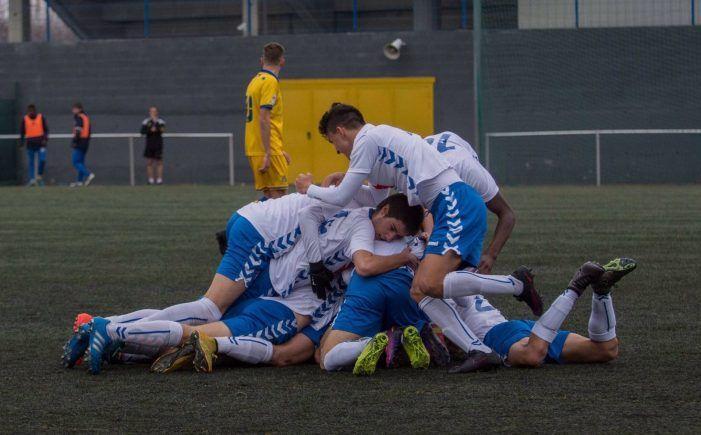 Las mejores imágenes del empate del Rayo Majadahonda juvenil en Alcorcón