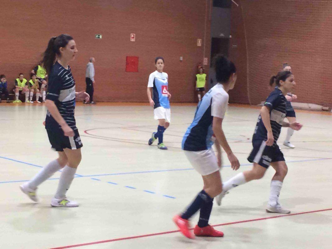 """Fútbol sala femenino: """"El partido Majadahonda-Alicante fue un correcalles muy peleado"""""""