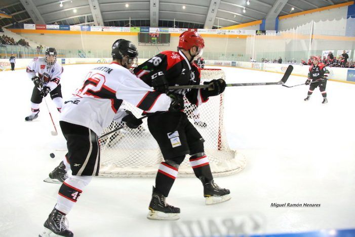 """Hockey Hielo (prensa): Jaca se queda """"atónito"""" ante el """"correoso"""" SAD Majadahonda (1-2)"""