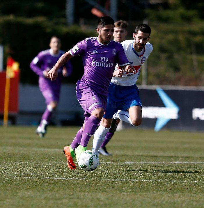 """La """"cláusula del miedo"""" y las lesiones acaban con el sueño del Rayo Majadahonda ante el Real Madrid (0-1)"""