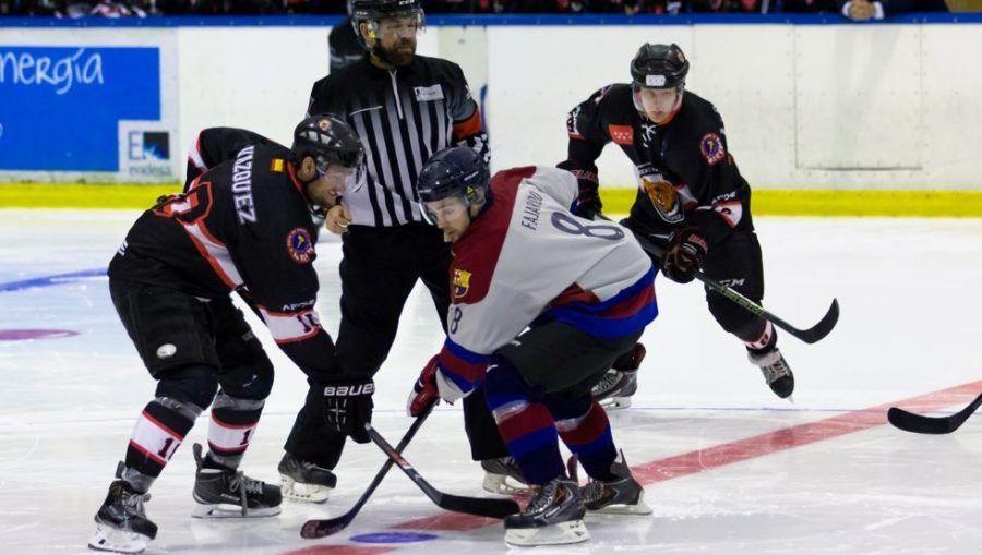 Hockey hielo: Majadahonda lucha hasta el final en un duro encuentro contra el Barcelona (8-1)