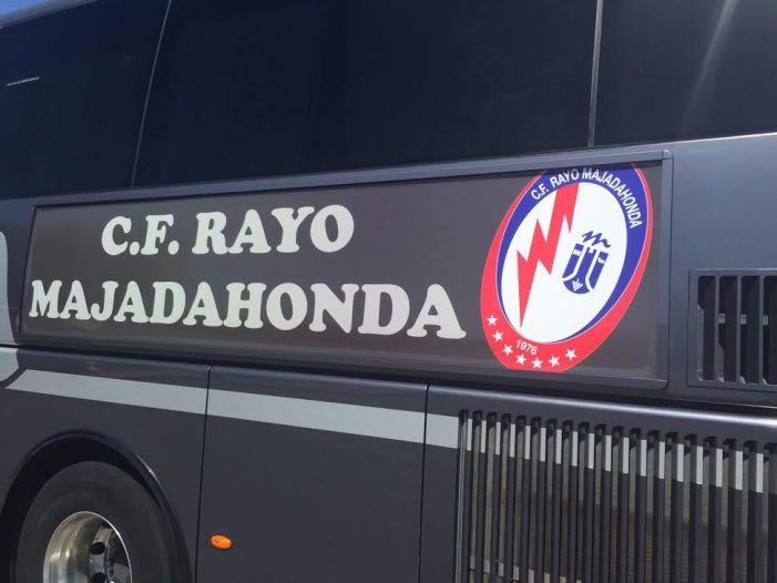 Aficionados del Rayo Majadahonda piden difusión para su expedición en bus a Albacete por 15€ con entrada