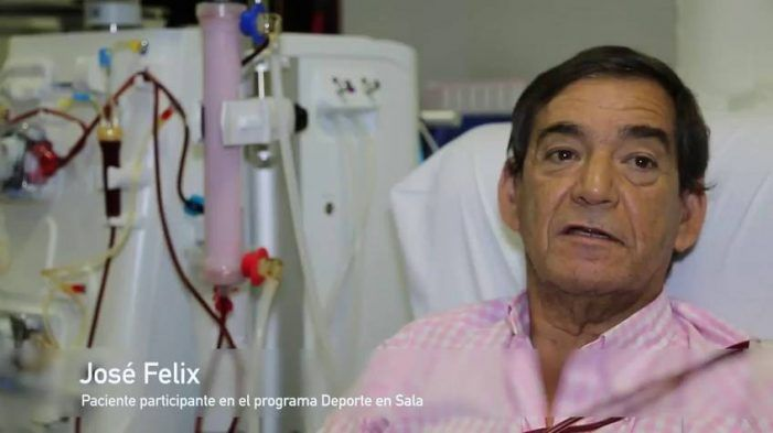 """Día Mundial del Riñón: un paciente de Los Lauros (Majadahonda) pedalea """"hasta el Guadarrama"""""""