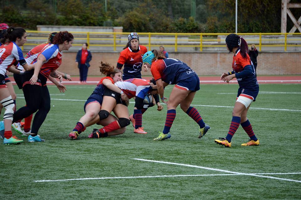 Rugby Femenino: Katie Baer consigue los 17 puntos de la victoria del CR Majadahonda en Sanse (5-17)