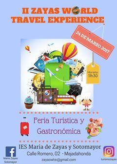 Turismo y Gastronomía de 50 países en la Feria del Instituto Mª de Zayas (Majadahonda)