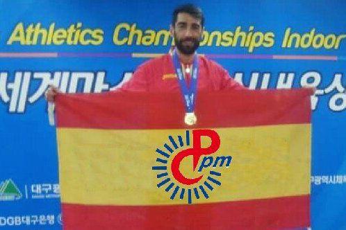 Atletismo: el policía de Majadahonda Juanjo Crespo, campeón mundial de 800 metros en Corea