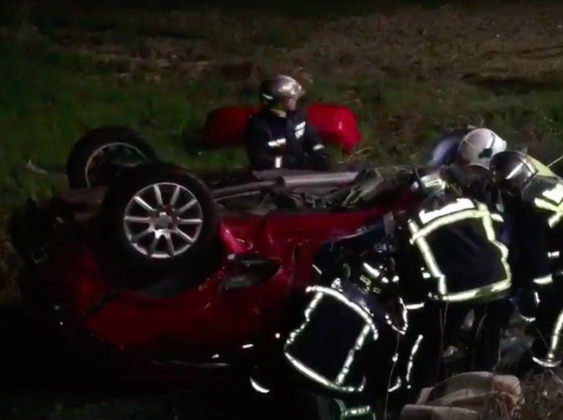 Masacre en la carretera M-851 de Majadahonda: 2 muertos y 2 heridos graves