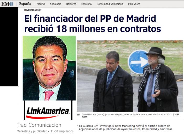"""""""El Mundo"""" revela que la Guardia Civil investiga otras 2 empresas """"púnicas"""" en Majadahonda: Traci y Link"""