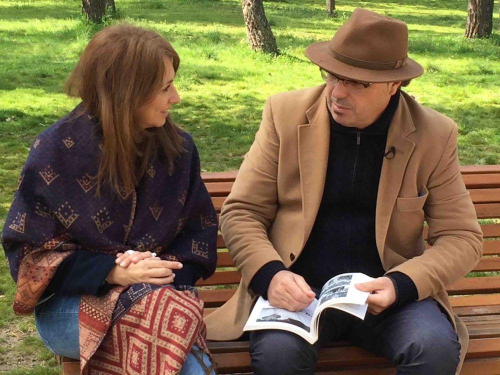 """Parlamento"" (TVE) acude a Majadahonda para entrevistar a Federico Utrera por su libro sobre Blasco Ibáñez"