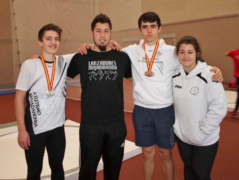 Atletismo: Manuel Varela y Miguel Gómez (CEA Majadahonda) se traen una plata y un bronce de León
