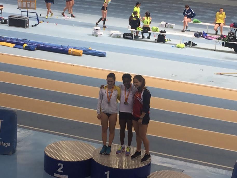 Atletismo: la majariega Scarlett Arredondo, campeona de España en Antequera