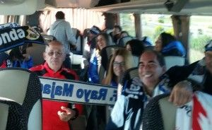 """Ilusionante encuesta entre la afición del Rayo Majadahonda que irá con el """"bus"""" a Albacete por 15 € con entrada"""