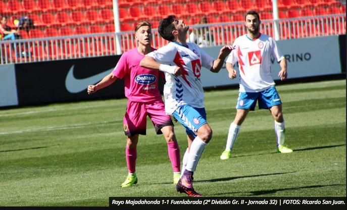 La prensa deportiva destaca a Iriondo, Basilio, Portilla, Ñoño, Oliva, Villalón y Jacobo en el Rayo Majadahonda-Fuenlabrada