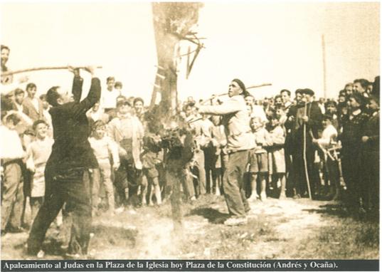 Domingo de Pascua: una Guía de Madrid desvela fotos del siglo pasado sobre la Fiesta del Judas de Majadahonda