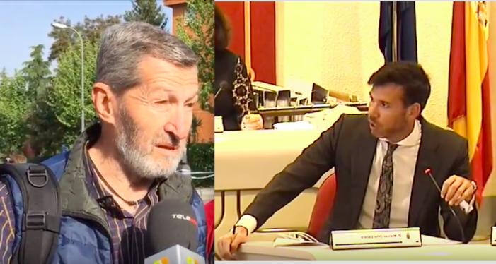 """Somos critica """"mandar el Ejército"""" a las Casas Rojas y el PP responde que el único general era de Podemos"""