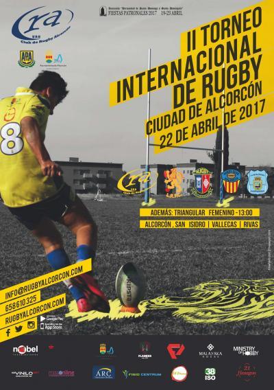 """Rugby: seleccionan al CR Majadahonda S14 para participar en el Torneo Internacional """"Ciudad de Alcorcón"""""""