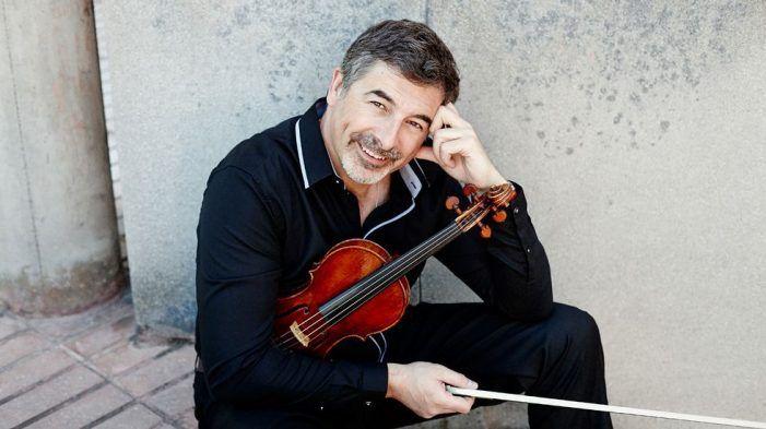 Concierto del violinista de Majadahonda Víctor Ambroa en la Sociedad Filarmónica de Vigo