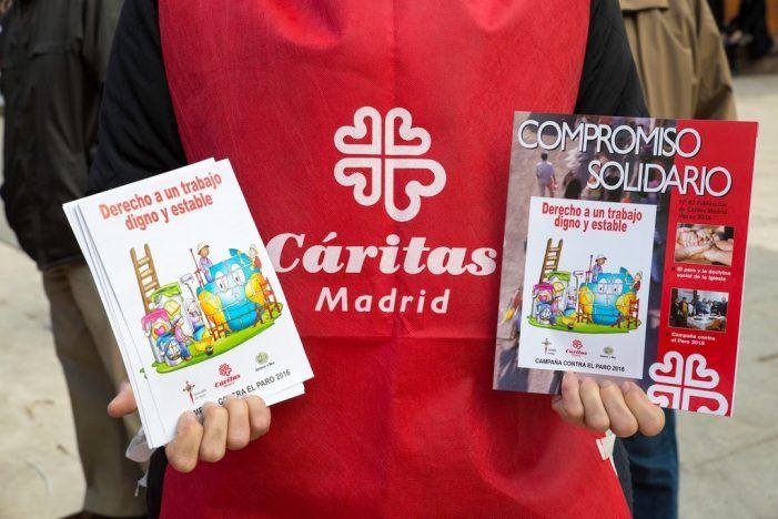 Cáritas Majadahonda ayuda a los más desfavorecidos en la segunda ciudad más rica de España