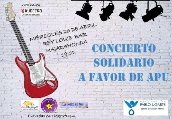 El Rey Louie de Majadahonda organiza un concierto solidario para luchar contra el cáncer infantil
