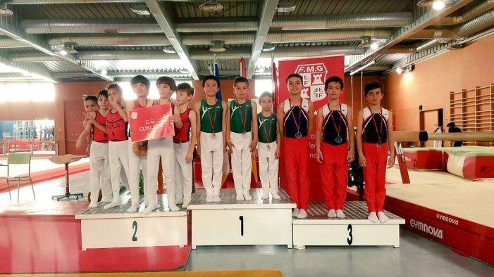 Las fotos de los 12 metales obtenidos por los gimnastas de CEMG Majadahonda en Vitoria y Las Rozas