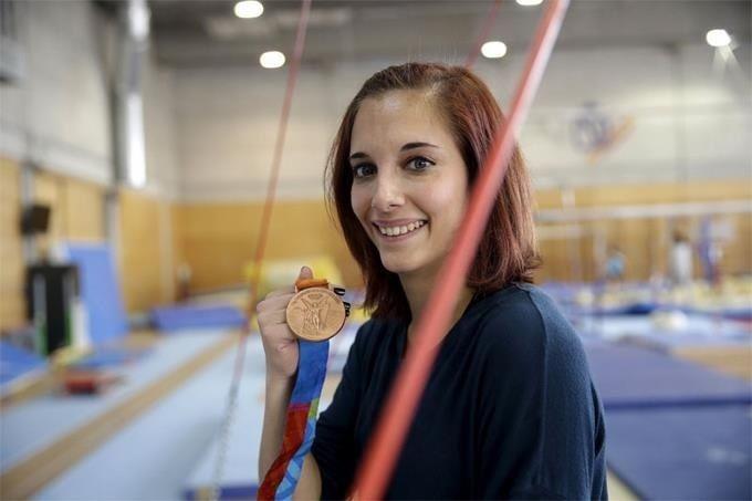 """Patricia Moreno, la gimnasta olímpica que dejó Pozuelo y """"fichó"""" por Majadahonda"""