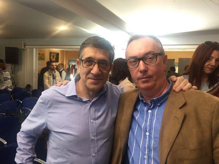 """Los """"históricos"""" del PSOE apoyan la candidatura de Patxi López en Majadahonda"""
