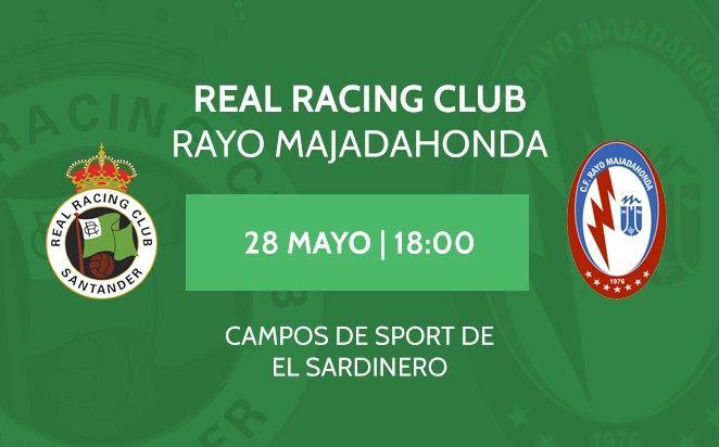 Racing de Santander pone las entradas del Rayo Majadahonda al mismo precio: 25 €