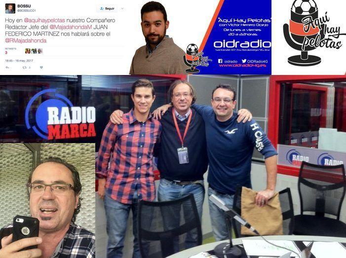 """Juan Federico Martínez (MJD Magazin) en OID Cantabria: """"Rayo Majadahonda es independiente"""""""