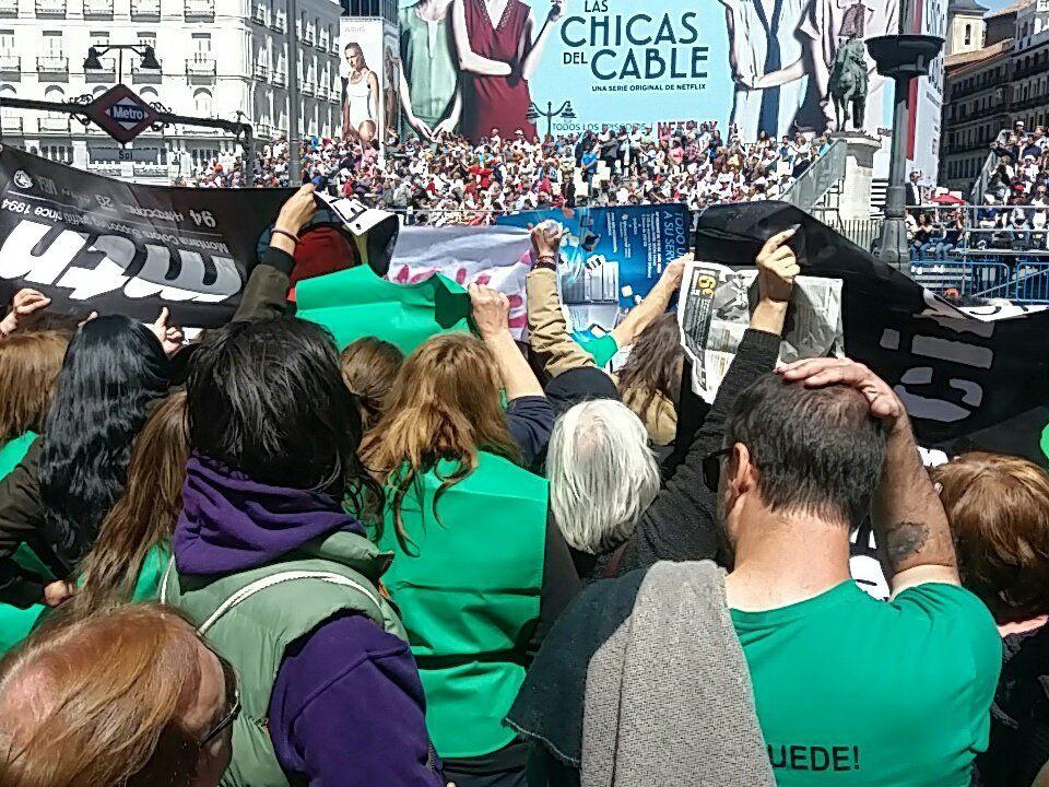 """Las """"casas rojas"""" de Majadahonda intentan """"reventar"""" el 2 de Mayo en la Puerta del Sol"""