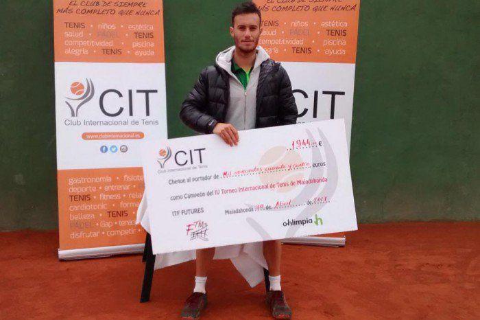 Tenis: Javier Martí se hace con los 15.000 euros del Torneo Internacional de Majadahonda